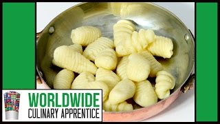 Potato Gnocchi - How To Make And Shape Gnocchis - Online Cooking Classes