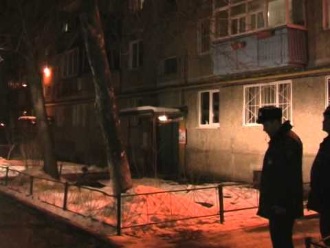 Пожар на улице  Дьяконова 10. Нижний Новгород