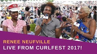 LIVE: Curlfest 2017 with Renee Neufville