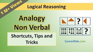 Non Verbal Analogy - Tricks & Shortcuts for Placement tests, Job Interviews & Exams