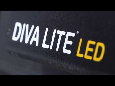 Kino Flo Diva-Lite LED with Gel Presets & Dial-in 360° Colors