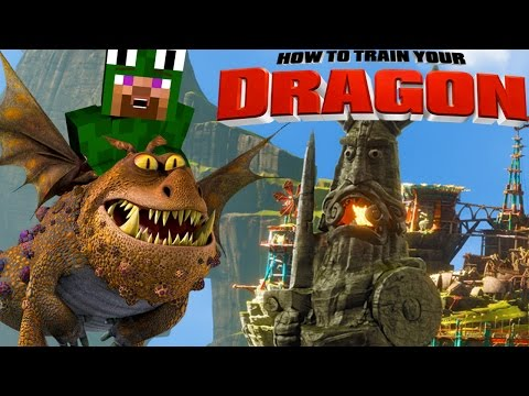 Minecraft Watch How To Train Your Dragon 2