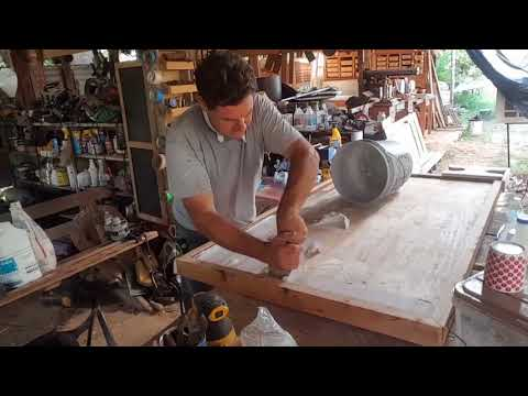 Homemade wood Bondo
