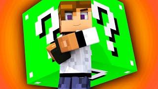 ЛАКИ БЛОК БЕЗ МОДОВ О_О НОВЫЙ ЗЕЛЕНЫЙ ЛАКИ БЛОК!? | Minecraft Lucky Block - Mini Game LUCKY SKY WARS