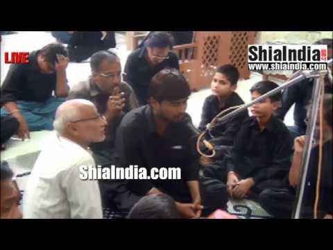 21st Muharram Majlis at Ata-e-Sakina (S.A) Magar Ki Bowli 1438-2016
