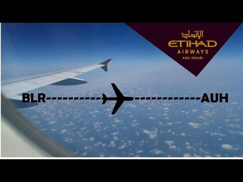 [NEW] [TRIP REPORT] ETIHAD AIRWAYS|EY287|BENGALURU|ABU DHABI|PART-1