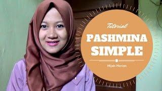 Hijab Pashmina Persegi Panjang Simple Harian Terbaru Nmy Hijab Tutorials Youtube