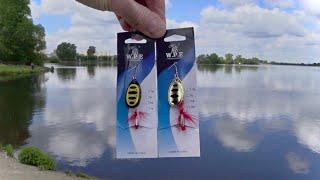Тестирую блесна вертушки с AliExpress Рыбалка на спиннинг без рыбы