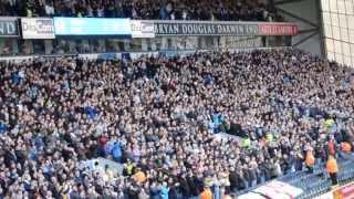 Leeds fans singing MOT at blackburn