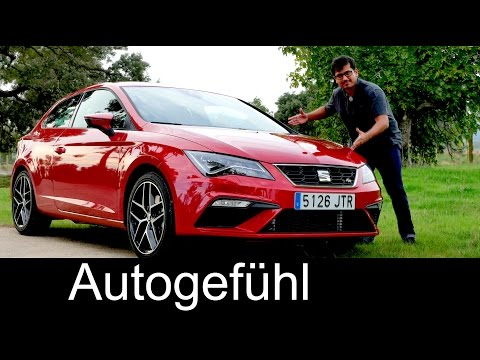 Seat Leon FR Facelift FULL REVIEW test driven new neu 2017/2018 - Autogefühl