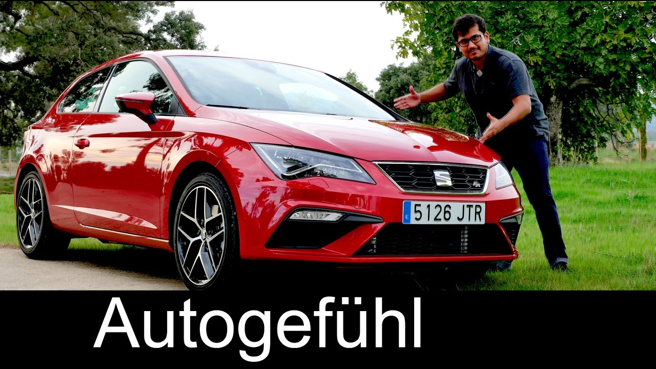 Seat Leon FR Facelift FULL REVIEW test driven new neu 2017/2018   Autogefühl