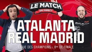 🔴 Atalanta - Real Madrid (Ligue des champions) / Le Match en direct (Football)