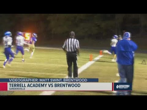 Terrell Academy vs. Brentwood 2019 Georgia high school football highlights (Week 14)