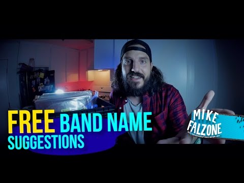 FREE BAND NAME SUGGESTIONS!