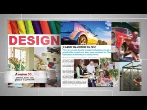 Avenue 50 - Nouveau magazine interactif pour les 50 ans et plus