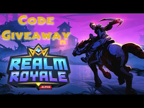 Realm Royale Code Giveaway (PS4) Maybe  Regular Subscribers Only If I don't know you, don't ask :)