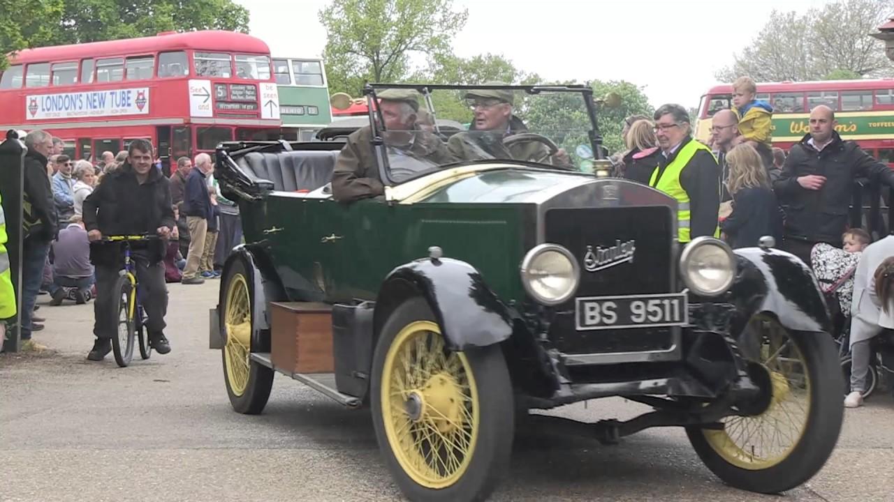 47th Annual Ipswich to Felixstowe Historic Vehicle Run 2017 - YouTube