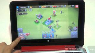 HP파빌리온 X360 윈도우8게임 토탈컨퀘스터