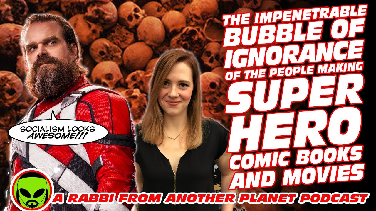 The impenetrable Bubble of Ignorance of People Making Mainstream Super Hero Comic Books and Movies!