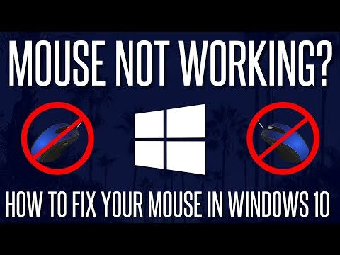 Mouse Not Working/Detected? - How To FIX Mouse Not Working In Windows 10