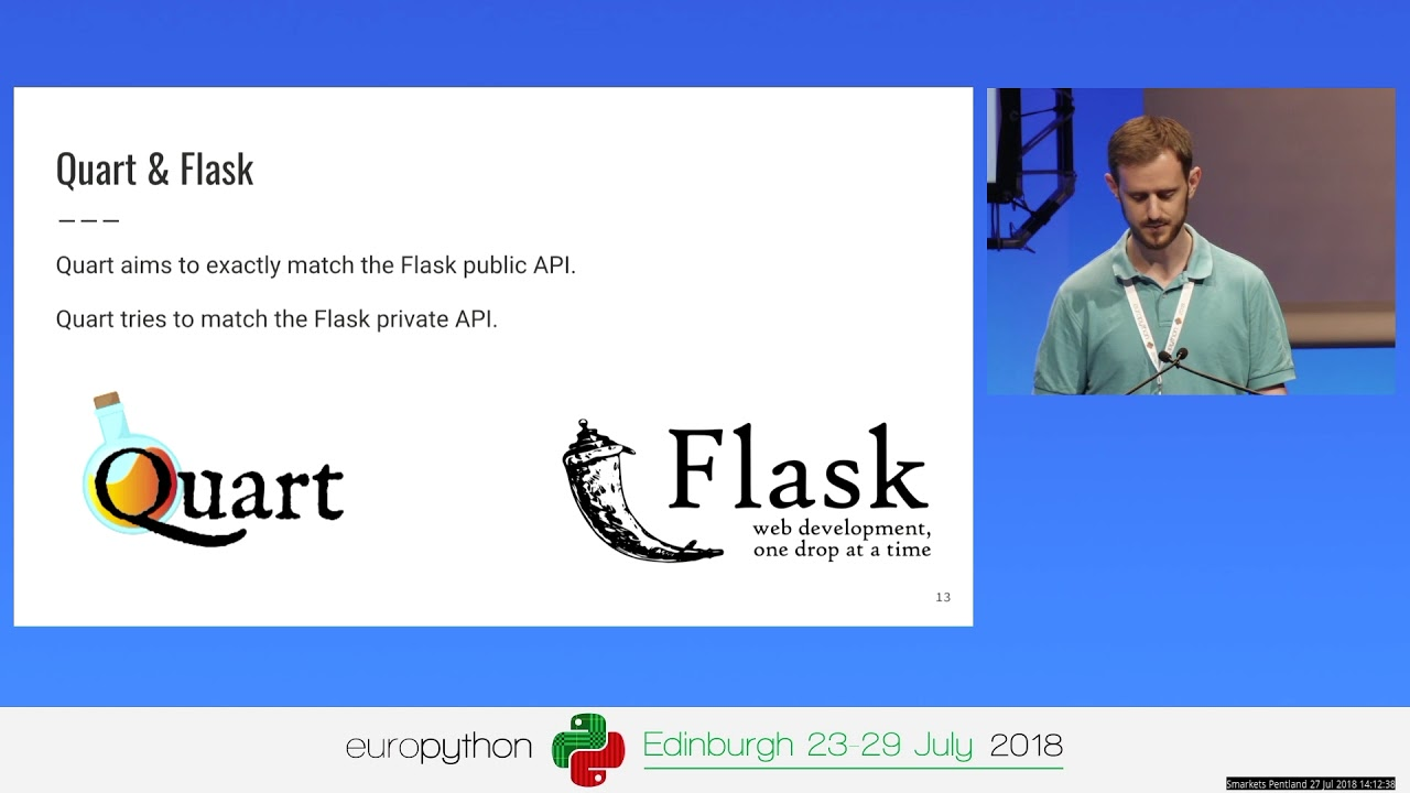 Philip Jones - Quart a asyncio alternative to Flask