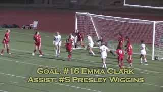2012 Westview High Girls Soccer - CIF Playoff game vs. Mt. Carmel - 2/25/2012