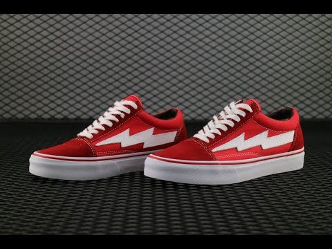 9335416a66b5 Ian Connor REVENGE X STORM VANS Red color HD review from aj23shoes ...