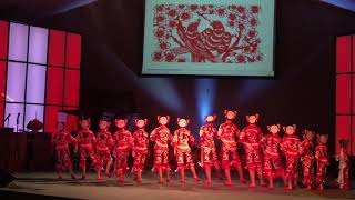 2019 剪纸姑娘-夏洛特迎新春,中国歌舞晚会 Charlotte, NC Chinese New Year Celebrations Dance-Paper Cutting Dolls