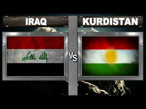 Iraq vs Kurdistan  - Total Power Comparsion and other Statistics 2018