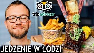 ŁÓDŹ - Sprawdzam NAJLEPSZE JEDZENIE w Łodzi wg TripAdvisor (2019) - gdzie zjeść?   GASTRO VLOG #237