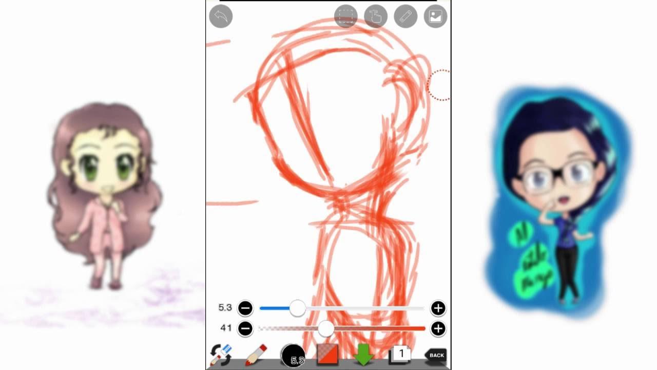1. Dibujando en android con Ibispaint - herramientas para el ...