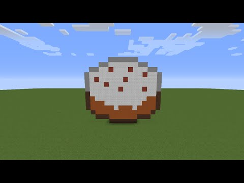 Minecraft Tutorial Ep How To Make Cake Statue