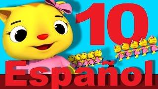 La canción de los diez animalitos | LittleBabyBum canciones infantiles HD 3D