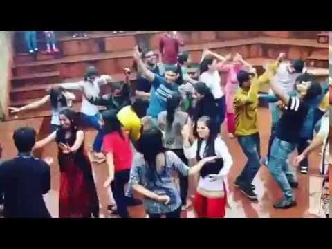 Dance in Shimla Mall Road during rain