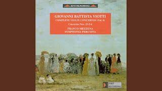 Violin Concerto No. 6 in E Major, G. 34: I. Maestoso