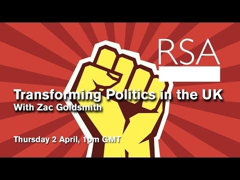 RSA Replay: Transforming Politics in the UK
