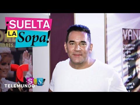 Eduardo Santamarina se ríe de su aumento de peso  Suelta La Sopa  Entretenimiento