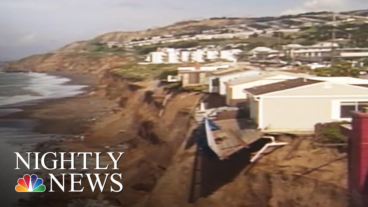 California Property Falling Into Ocean