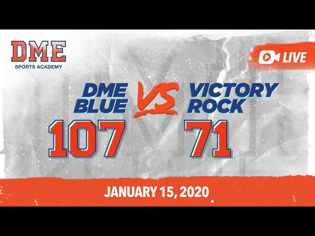 DME Blue vs Victory Rock
