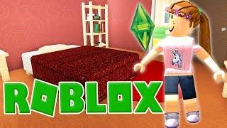 los sims en roblox   roblox bloxburg