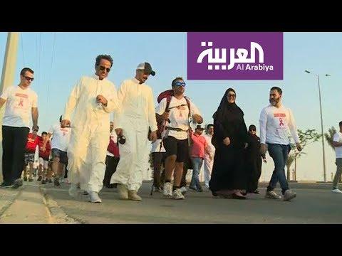 حملة -امشي عشانها- تهدف للتوعية بسرطان الثدي في جدة  - 11:53-2018 / 10 / 20