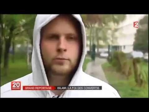 """""""Islam la foi des convertis"""" JT 20H France2"""