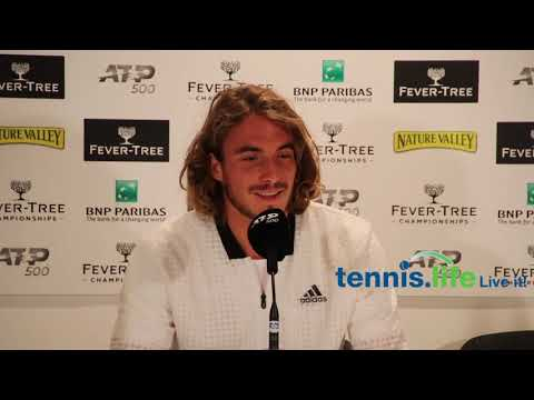 Tsitsipas with a very sensible response in regards to the Next Gen players overtaking the big 3 + compliments Zverev :o