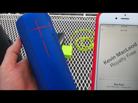 UE ULTIMATE EARS MEGABOOM BLUETOOTH SPEAKER VERY LOUD MUSIC!!