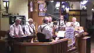 Historic Munich Beer Hall And Bands, Bavaria, Germany