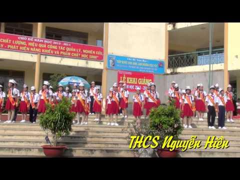 Lễ Khai Giảng 2013 - 2014 - Trường THCS Nguyễn Hiền Q12