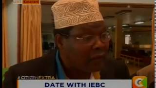 [VIDEO]: Drama as Miguna walks away from IEBC officials, attacks media
