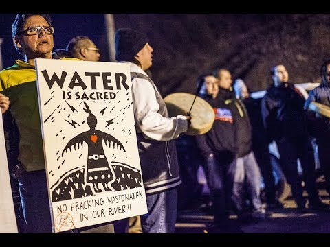 Seneca Nation Rallies To Defend River From Fracking Wastewater