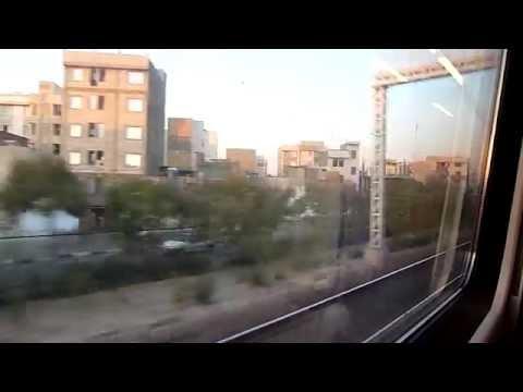 Teheran - Yazd train, Iran