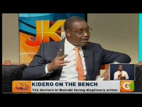Jeff Koinage Live: Nairobi cannot be led by Ben 10s and cougars -Kidero Part 1